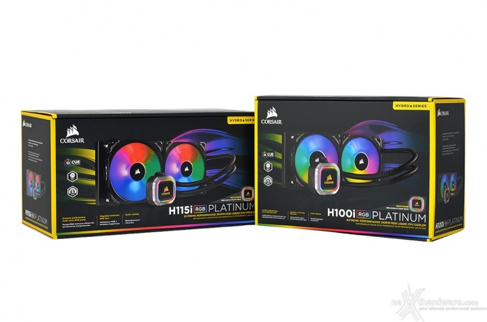 CORSAIR H100i & H115i RGB Platinum 1. Packaging & Bundle 1