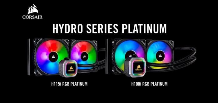 CORSAIR H100i & H115i RGB Platinum 1