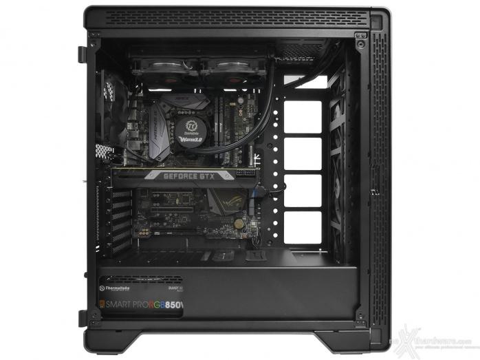 Thermaltake A500 Aluminum TG 5. Installazione componenti 5
