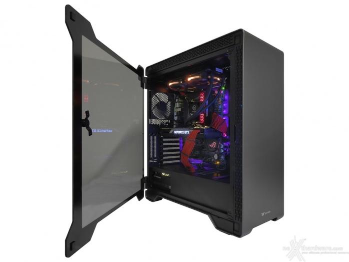 Thermaltake A500 Aluminum TG 5. Installazione componenti 11