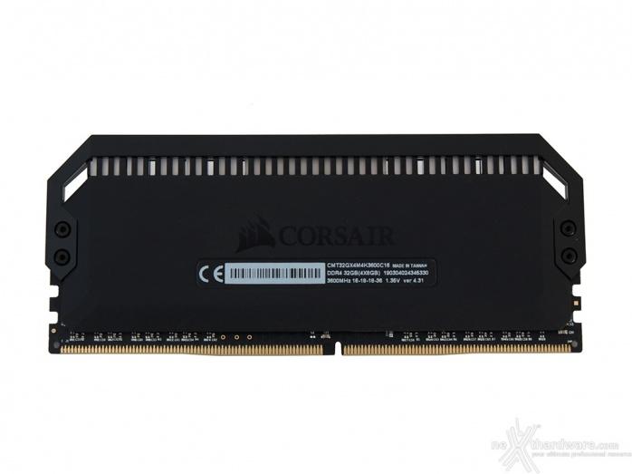 CORSAIR Dominator Platinum RGB 3600MHz 32GB 2