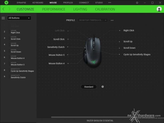 Il setup 2019 di fascia media firmato Razer 5. Razer Synapse 3 5