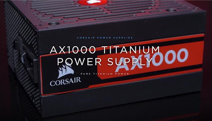 CORSAIR AX1000 Titanium 1