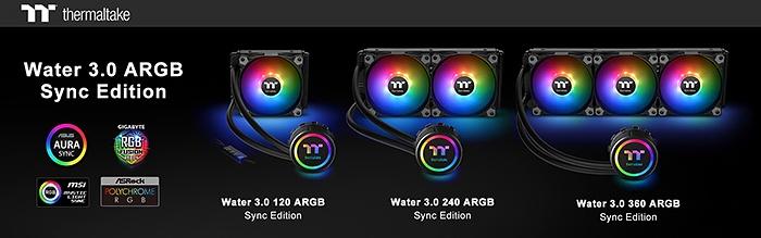 Thermaltake Water 3.0 360 ARGB Sync Edition 1