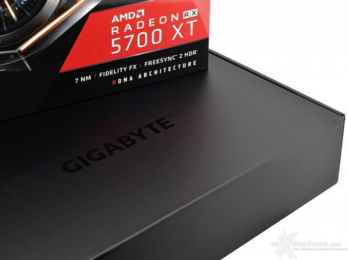 GIGABYTE Radeon RX 5700 XT GAMING OC 2. Packaging & Bundle 2