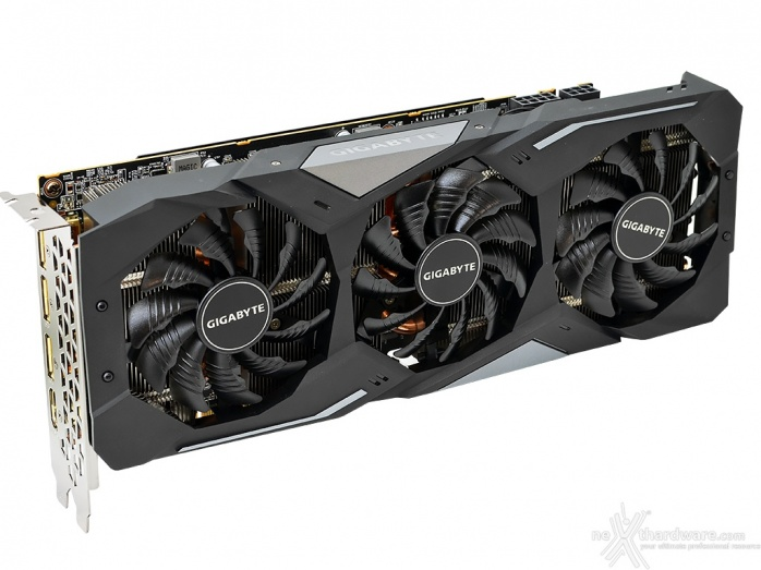 GIGABYTE Radeon RX 5700 XT GAMING OC 3. Vista da vicino - Parte prima 2