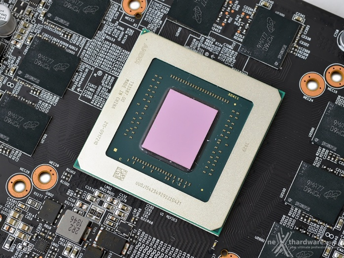 GIGABYTE Radeon RX 5700 XT GAMING OC 5. Layout & PCB 2