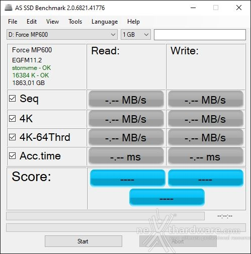Roundup SSD NVMe PCIe 4.0 15. AS SSD Benchmark 1