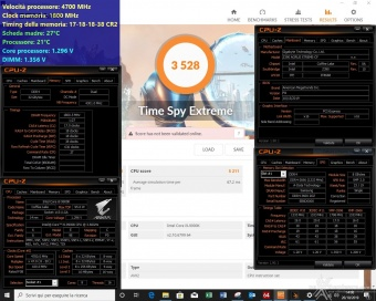 ADATA XPG SPECTRIX D60G 3600MHz 32GB 5. Test di stabilità 2