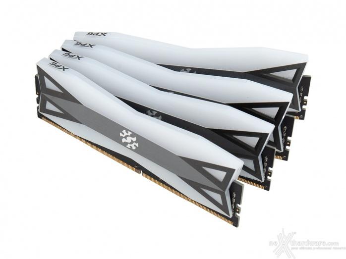ADATA XPG SPECTRIX D60G 3600MHz 32GB 1. Presentazione delle memorie 8