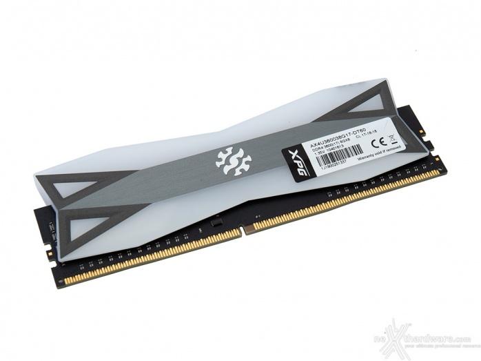 ADATA XPG SPECTRIX D60G 3600MHz 32GB 1. Presentazione delle memorie 7