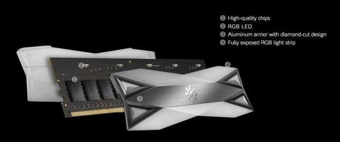 ADATA XPG SPECTRIX D60G 3600MHz 32GB 1. Presentazione delle memorie 9