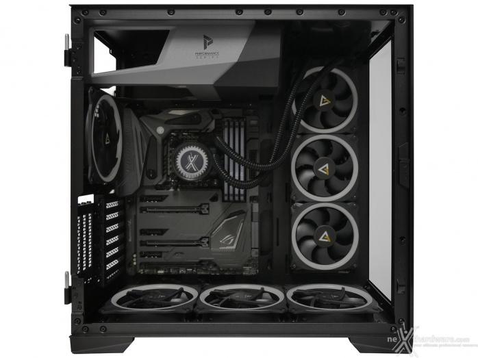 Antec P120 Crystal 5. Installazione componenti 2