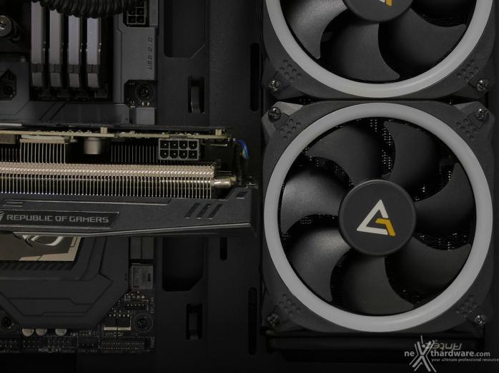 Antec P120 Crystal 5. Installazione componenti 4