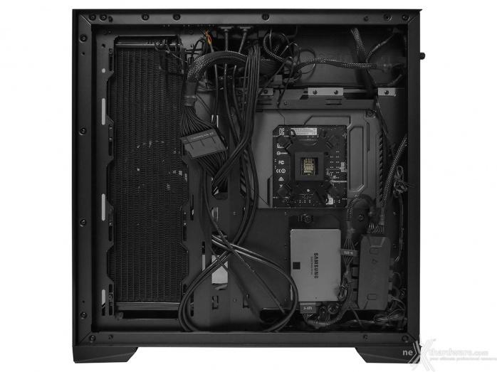 Antec P120 Crystal 5. Installazione componenti 6