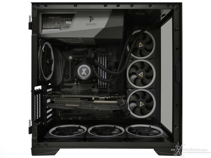 Antec P120 Crystal 5. Installazione componenti 7