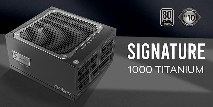 Antec Signature Titanium 1000 1
