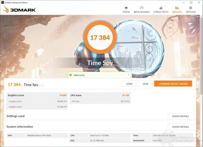 ZOTAC GeForce RTX 3090 Trinity 15. Overclock 7