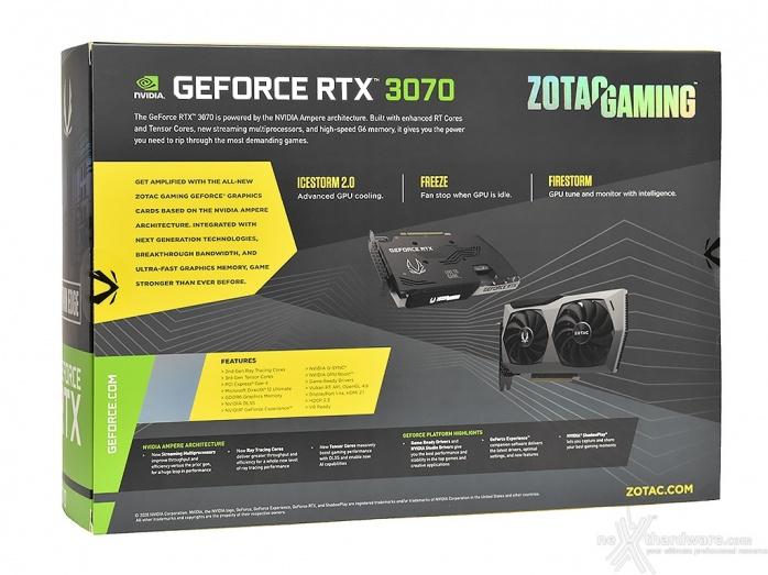 ZOTAC GeForce RTX 3070 Twin Edge 3. Packaging & Bundle 2