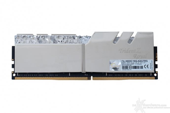 G.SKILL Trident Z Royal 3600MHz CL16 64GB 3. Specifiche tecniche e SPD 1