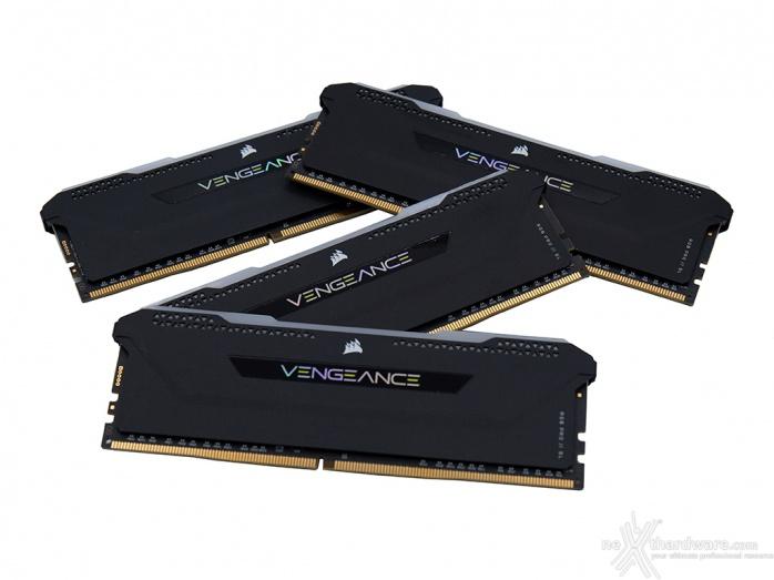 CORSAIR VENGEANCE RGB PRO SL 3600MHz 32GB 1. Presentazione delle memorie 4