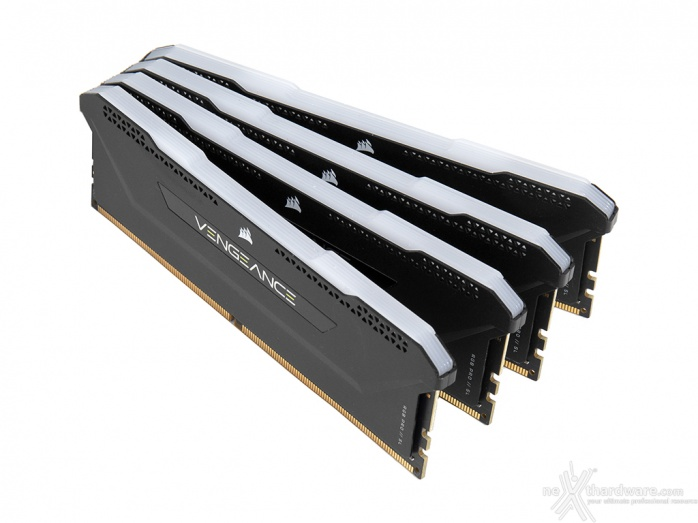 CORSAIR VENGEANCE RGB PRO SL 3600MHz 32GB 1. Presentazione delle memorie 7