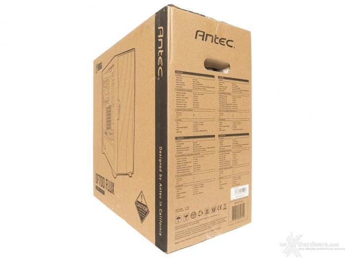 Antec DF700 Flux 1. Packaging & Bundle 1