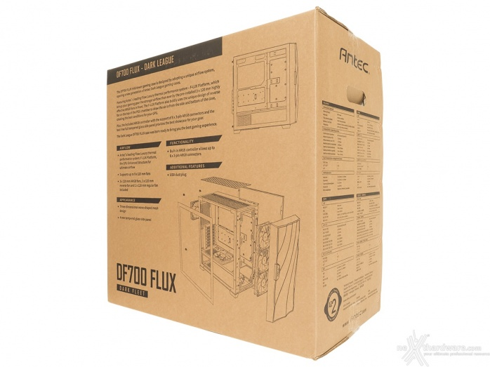 Antec DF700 Flux 1. Packaging & Bundle 2