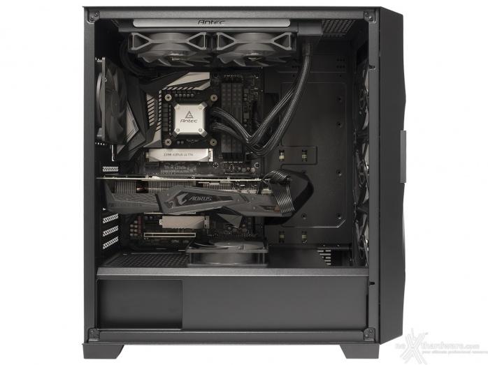 Antec DF700 Flux 5. Installazione componenti 5