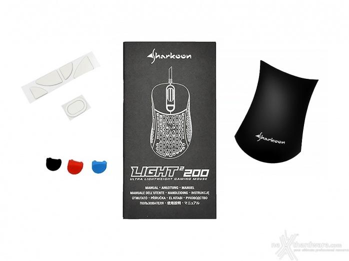 Sharkoon PureWriter RGB & Light² 200 1. Unboxing 5