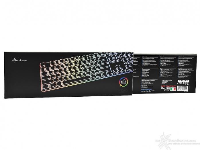 Sharkoon PureWriter RGB & Light² 200 1. Unboxing 1