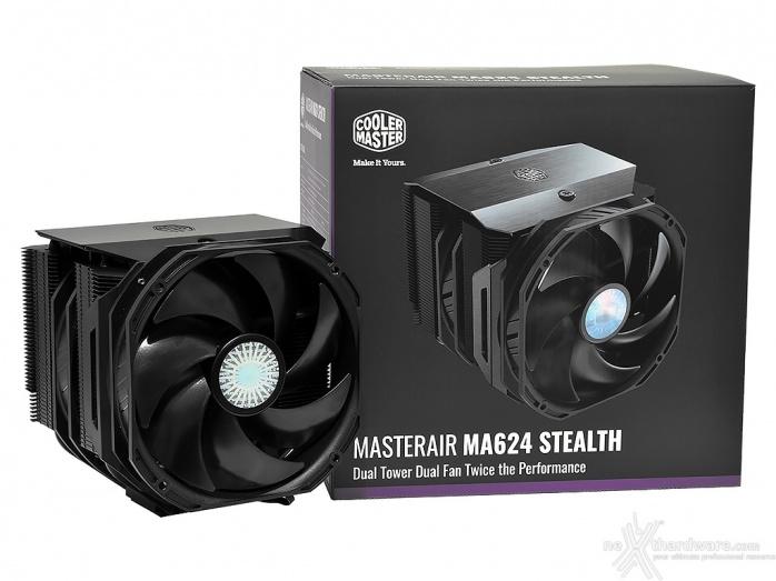 Cooler Master MasterAir MA624 Stealth 1