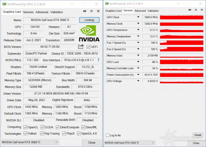 ZOTAC GeForce RTX 3080 Ti AMP Holo 12. Overclock 4