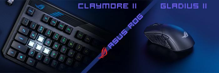 ASUS ROG Claymore II & Gladius III Wireless 1