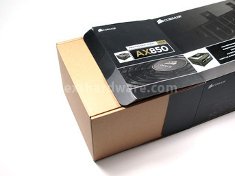 Corsair AX-850 1. Box & Specifiche Tecniche 5