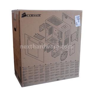 Corsair Obsidian 650D : la classe non è acqua 1. Packaging & Bundle 2