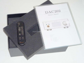 Weiss DAC202 1. Prima panoramica del DAC202 2