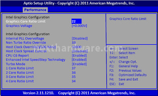 Sapphire PURE Platinum Z68 4. BIOS & Software 3