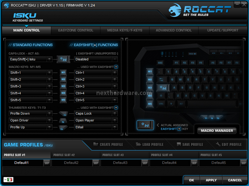 Roccat isku kone e alumic 5 software di gestione for Recensioni di software planimetrie