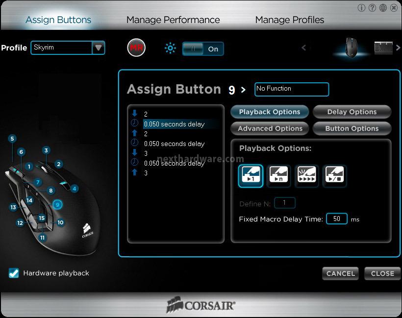 Corsair vengeance k90 m90 6 software di gestione for Recensioni di software planimetrie