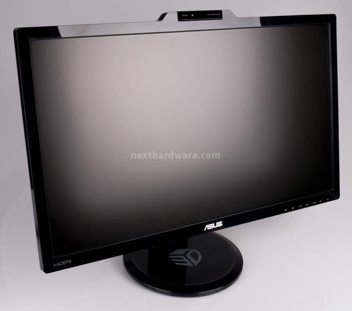 ICON img ASUSVG278HFront 9063321090162694680 ASUS VG278H 120Hz e NVIDIA 3D Vision 2 Un 27 con tecnologia 3D Light