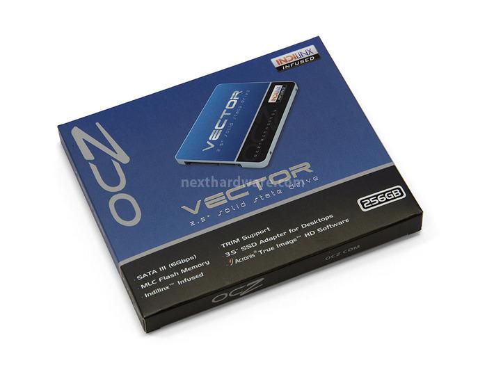 OCZ Vector 256GB: Day One 1. Confezione & Bundle 1