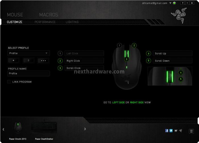 razer deathstalker orochi 2013 e goliathus 8 software