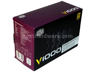 Cooler Master V1000 80Plus Gold 1. Confezione & Specifiche Tecniche 2