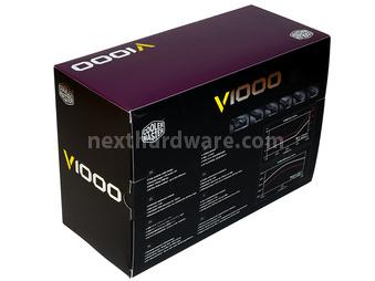 Cooler Master V1000 80Plus Gold 1. Confezione & Specifiche Tecniche 3