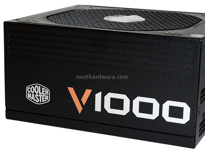 Cooler Master V1000 80Plus Gold 2. Visto da vicino 3