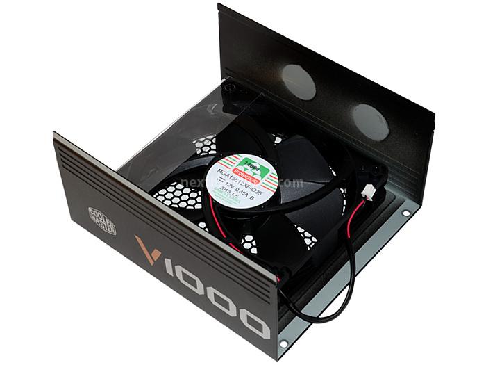 Cooler Master V1000 80Plus Gold 6. Interno: dissipatori & ventole 1
