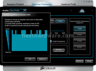 Corsair Vengeance M65 & MM400 4. Software di gestione 9