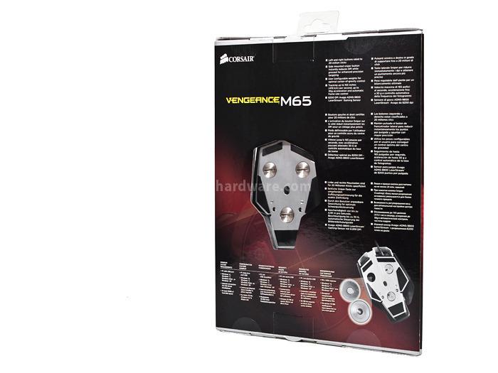 Corsair Vengeance M65 & MM400 1. Packaging e Bundle 2