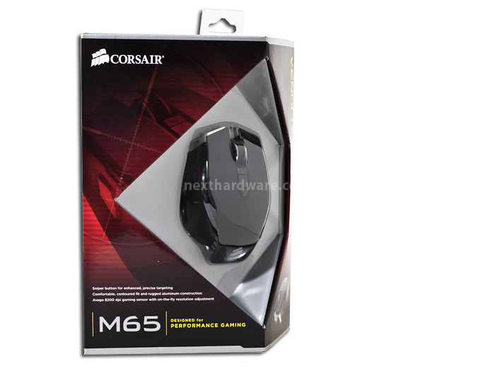 Corsair Vengeance M65 & MM400 1. Packaging e Bundle 1